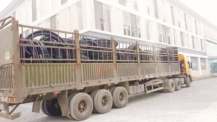 Vận chuyển sắt thép đi Sài Gòn