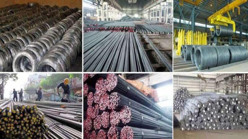 Các loại sắt thép vận chuyển đi Long An