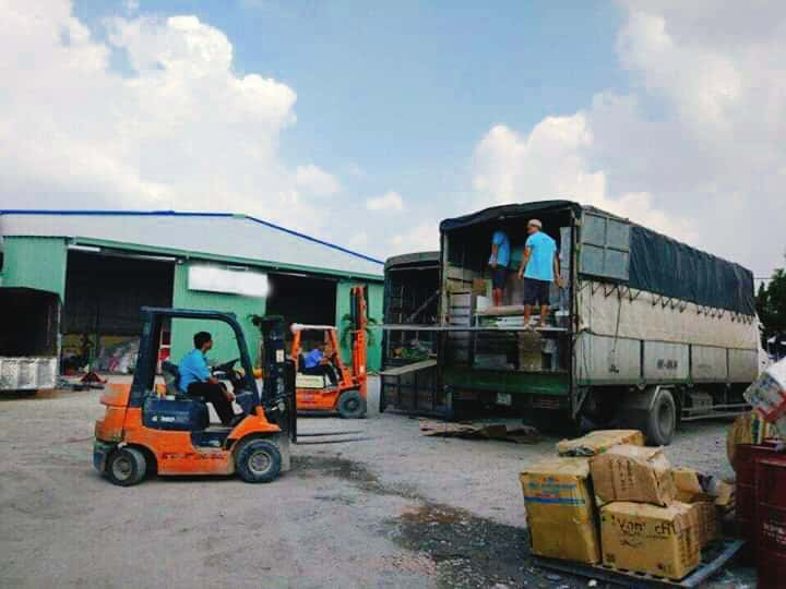 Gửi hàng từ Hà Nội đi Bình Dương