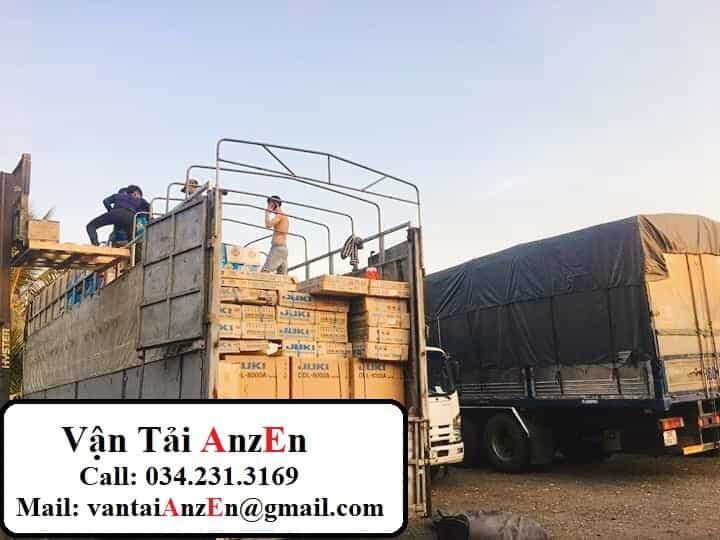 vận chuyển hàng hóa từ Hưng Yên đi Bình Dương