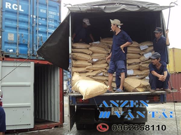vận chuyển vật liệu xây dựng đi Hải Phòng