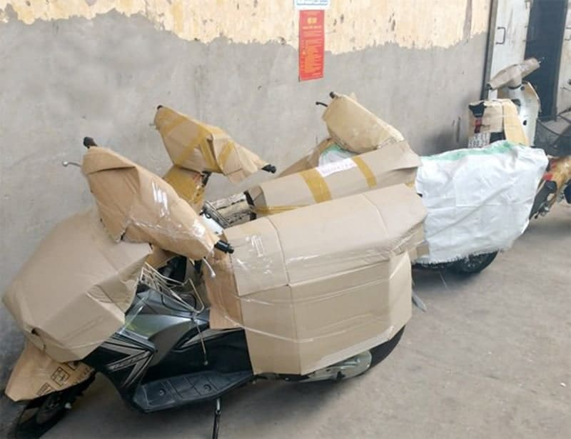vận chuyển xe máy đến Long An