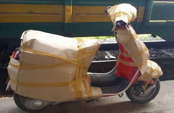 Vận chuyển xe máy đi Hà Nội