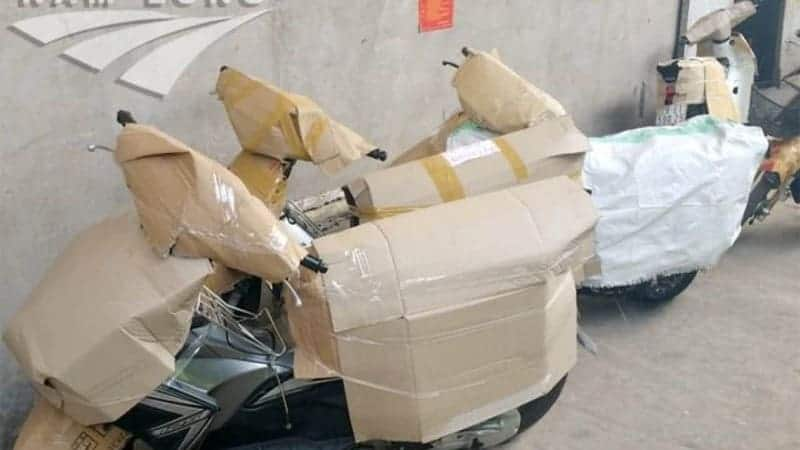 Vận chuyển xe máy