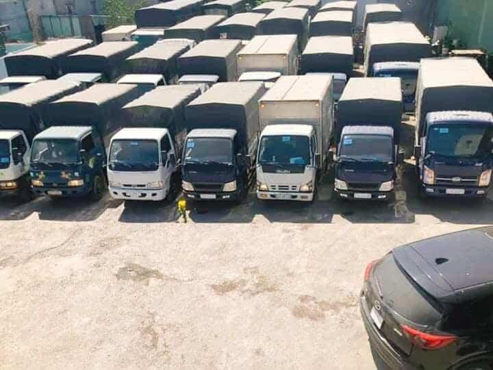 Công ty vận tải ở Long An