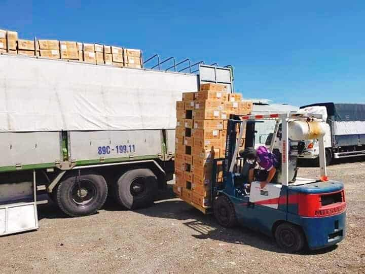 Công ty vận tải tại Long An
