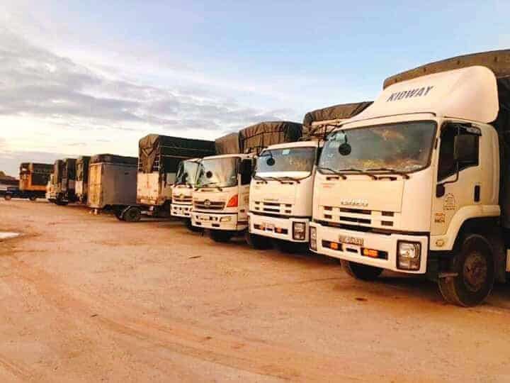 Anzen - công ty vận tải gửi hàng đi Long An