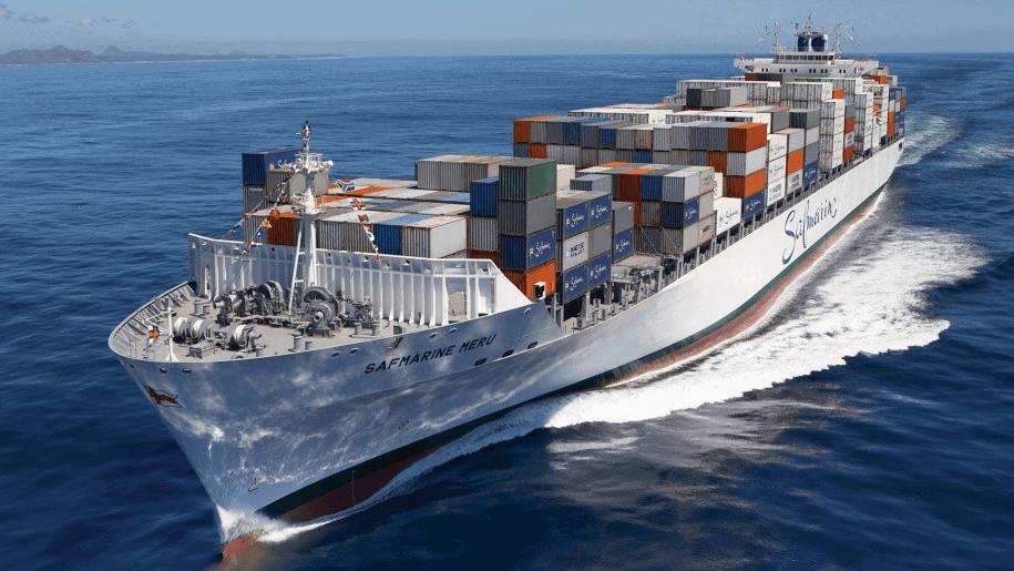 vận chuyển hàng hoá bằng đường biển