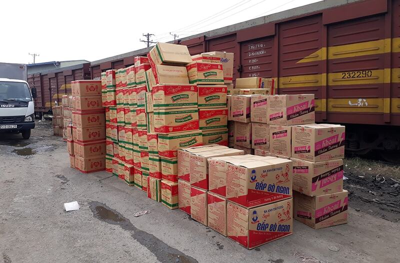 Vận chuyển hàng hóa bằng đường sắt tại Đồng Nai