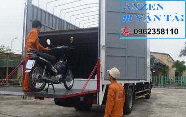 Vận chuyển xe máy từ Hà Nội vè Bình Dương