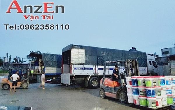 Vận chuyển hàng tại AnzEn