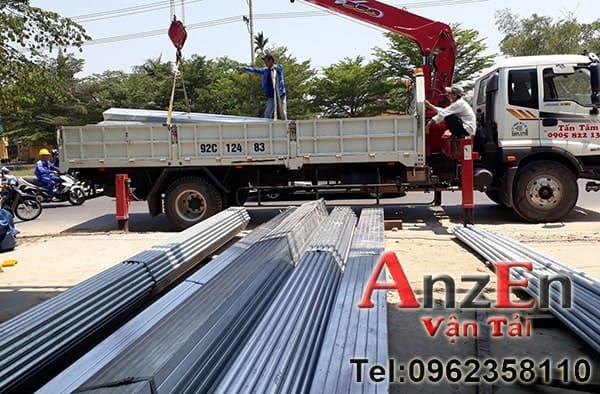 dịch vụ vận chuyển sắt thép