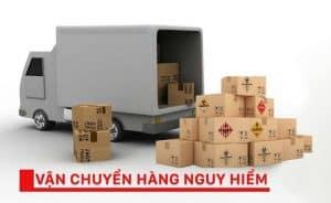 Dịch vụ vận chuyển hàng hóa nguy hiểm