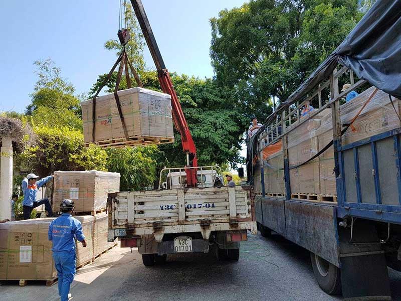 vận chuyển pin năng lượng mặt trời đi Ninh Thuận
