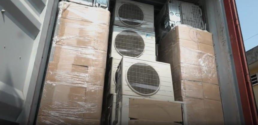Vận chuyển hàng điện lạnh