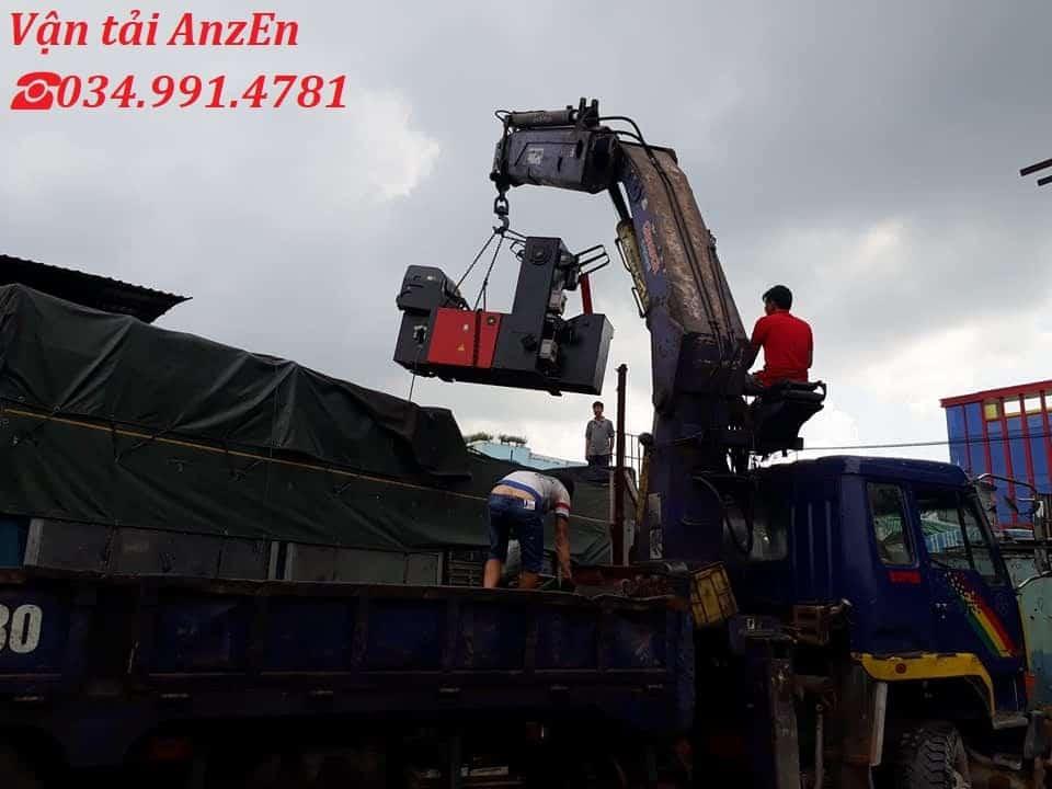 chở thiết bị công nghiệp đi Hà Tĩnh
