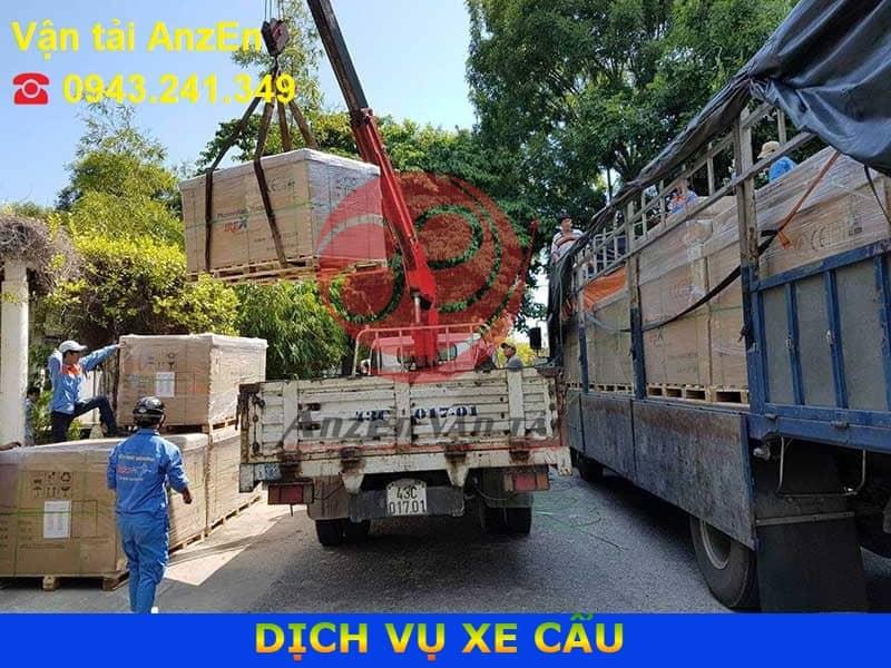Thuê xe cẩu tại Trà Vinh