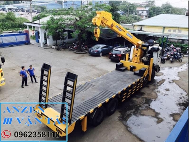 Cho thuê xe cẩu tại An Giang