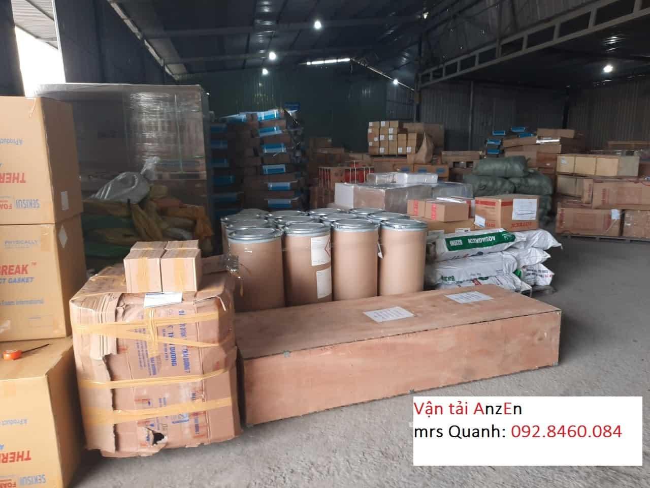 Vận chuyển hàng tiêu dùng đi Bắc Giang
