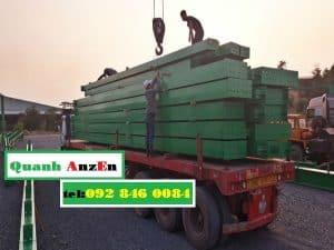 Chở vật liệu xây dựng đi Bình Định
