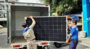 Vận chuyển pin mặt trời đi Nha Trang