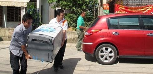 Vận chuyển máy giặt đi Hưng Yên