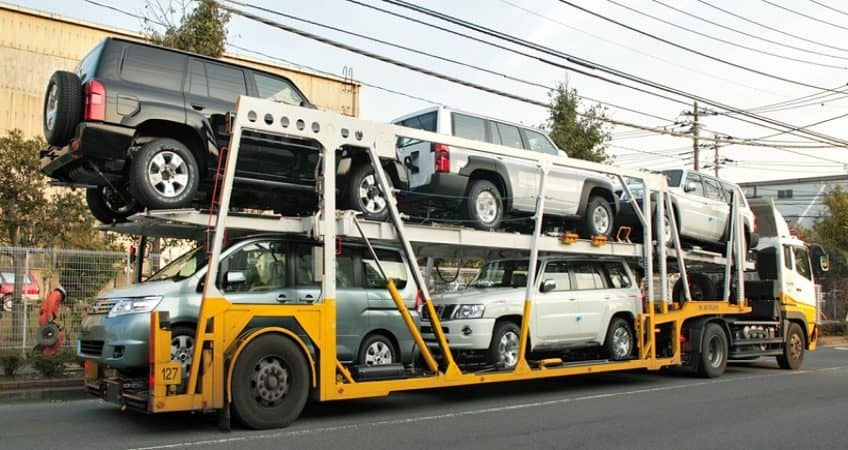 Vận chuyển ô tô đi Hà Nội