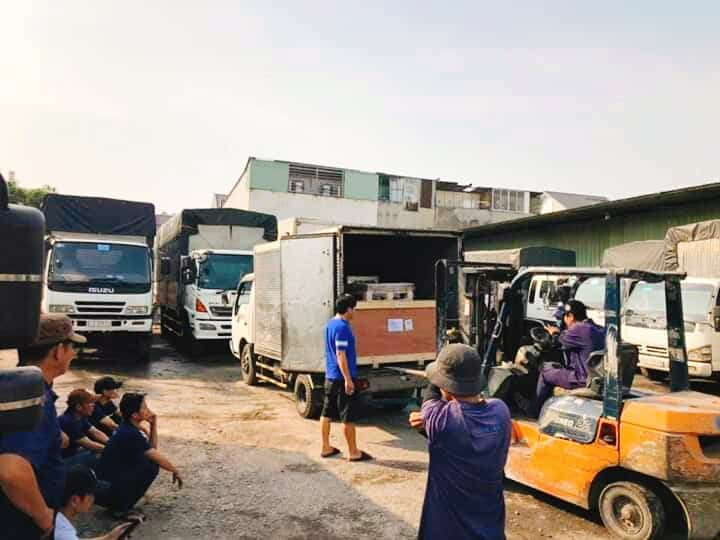 Giá vận chuyển máy móc đi Đà Nẵng