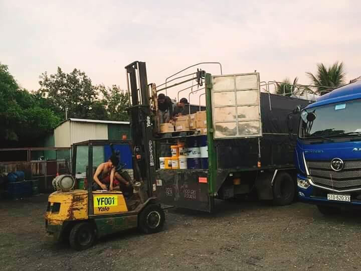 Cho thuê xe cẩu hàng tại Huế