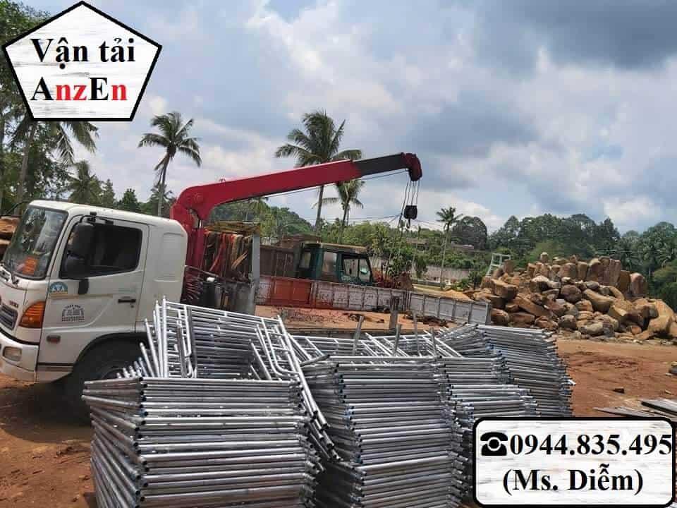 Dịch vụ cho thuê xe cẩu hàng tại Huế
