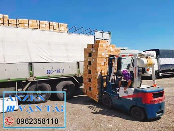 vận chuyển vật liệu xây dựng đi Sài Gòn