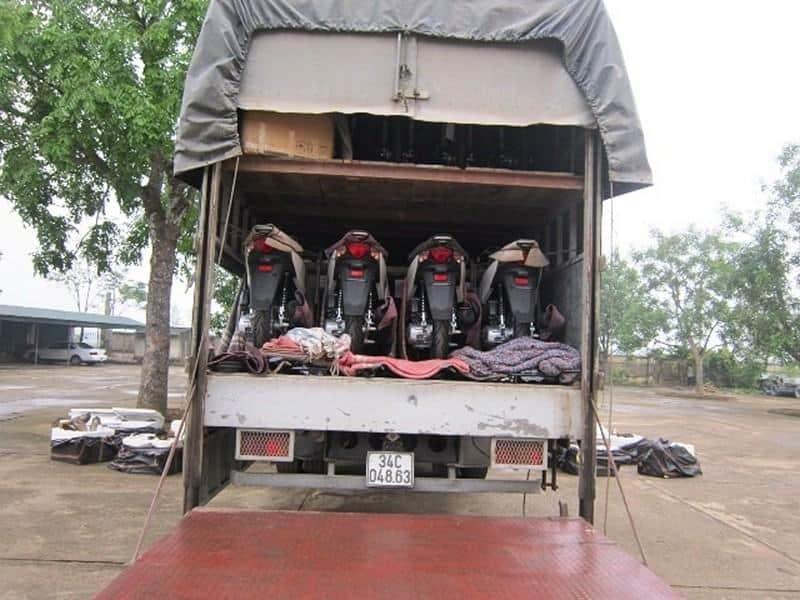 gửi xe máy từ Nha Trang vào Sài Gòn