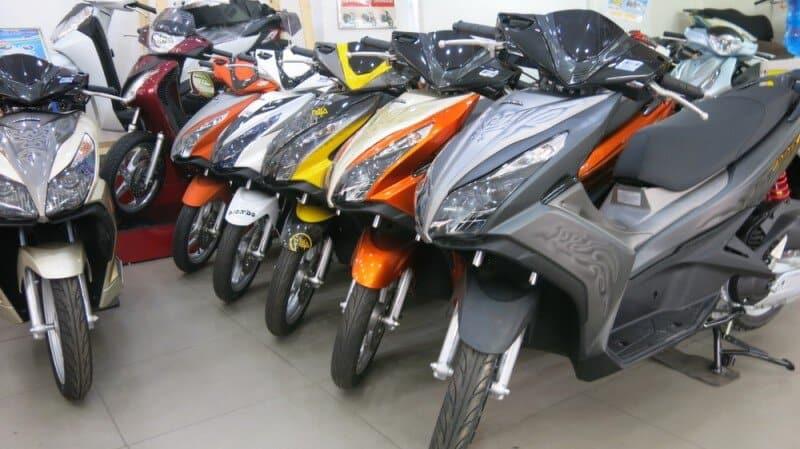 Gửi xe máy từ Phú Yên vào Sài Gòn