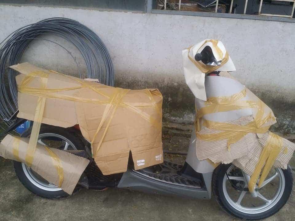 gửi xe máy từ Quy Nhơn vào Sài Gòn