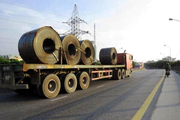vận chuyển vật liệu xây dựng đi bình dương
