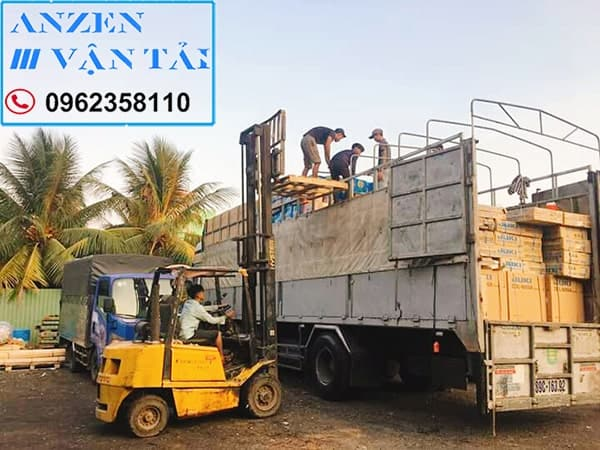 vận chuyển vật liệu xây dựng đi Vũng Tàu