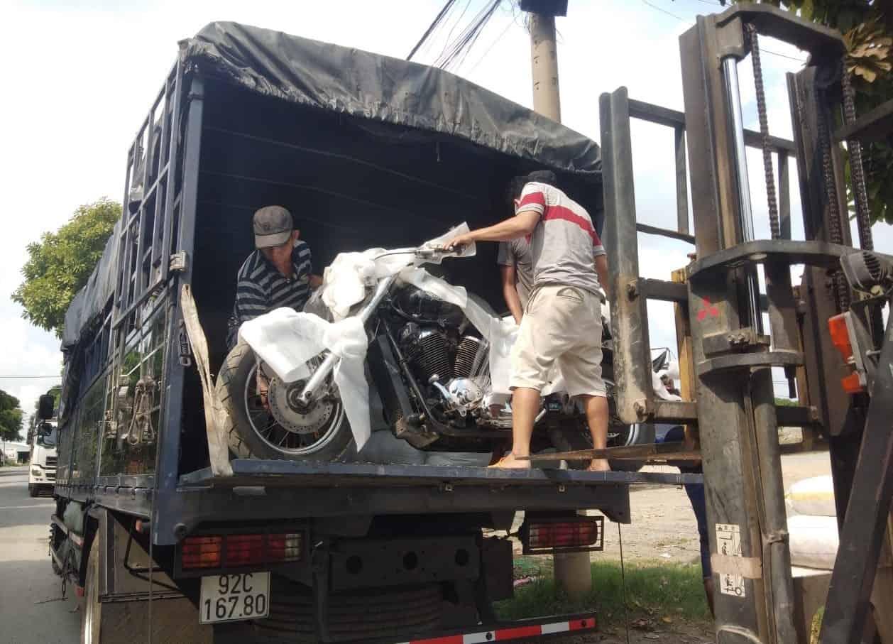 vận chuyển xe máy đi hà tĩnh