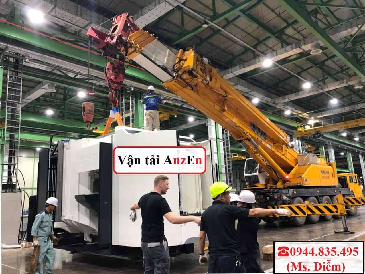 Chở máy móc công nghiệp đi Đà Nẵng