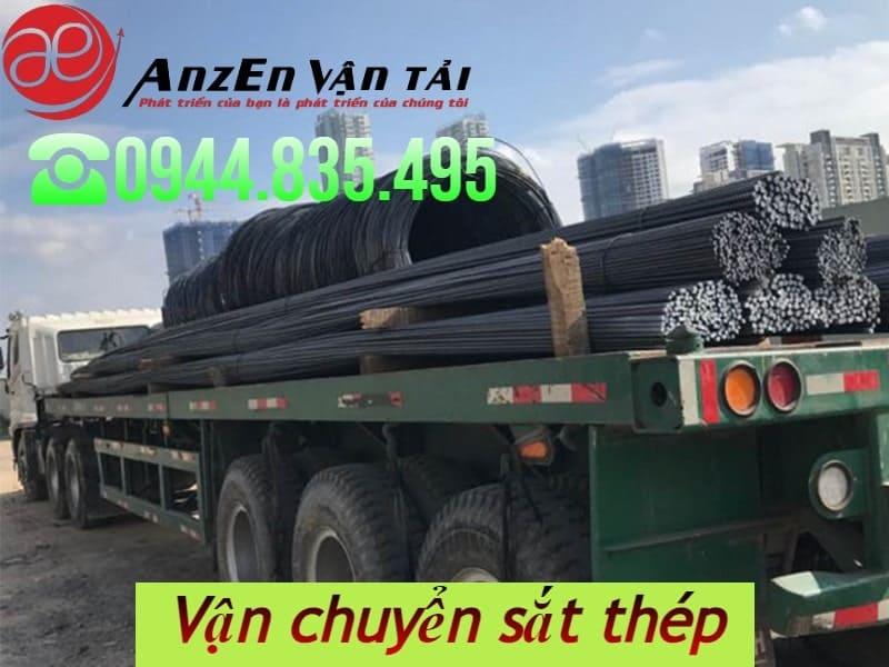Chở sắt thép đi Kiên Giang