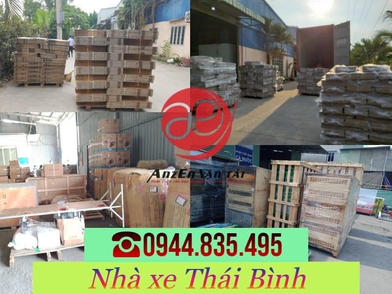 Gửi hàng từ Thái Bình đi Sài Gòn